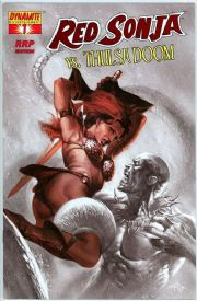 Red Sonja vs. Thulsa Doom #1 Dell'Otto RRP Variant 1:100 Dynamite Entertainment comic book